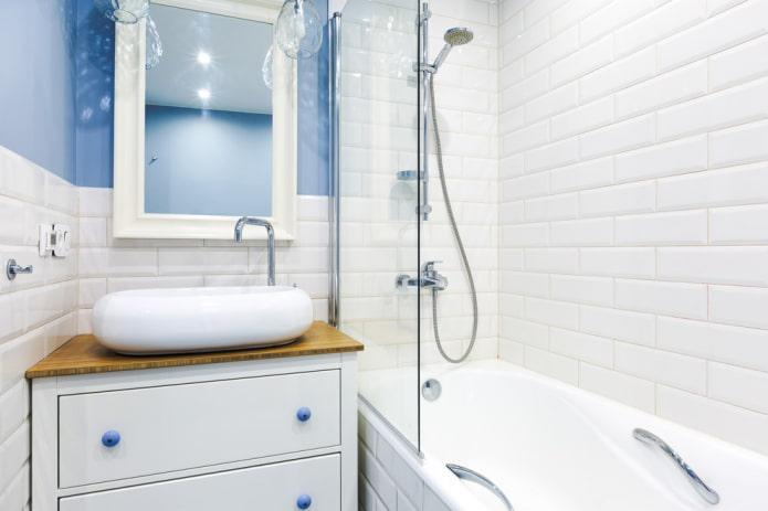 колористика интерьера ванной комнаты