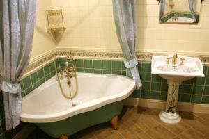 Стиль прованс в оформлении ванной комнаты