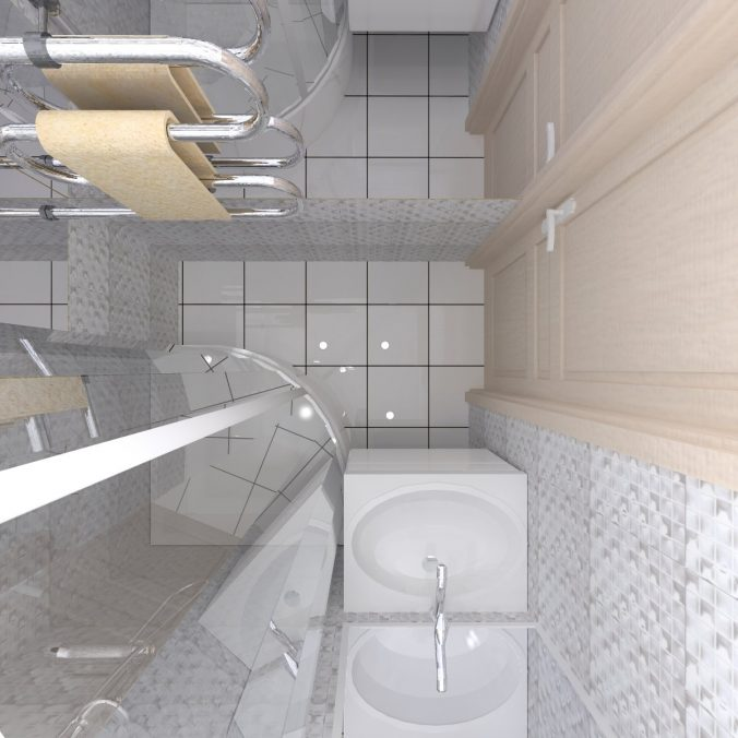проект ванной