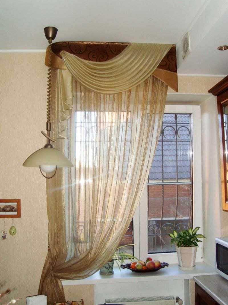На чем висят шторы? 40 фото: направляющие и виды креплений для занавесок, стили карнизов