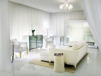 Белые шторы: стильные виды, идеи оформления и советы по применению в дизайне интерьера (100 фото)