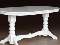 Белый стол: проекты, схемы и особенности применения в дизайне интерьера (130 фото и видео)
