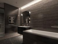 Черная ванная комната — 105 фото простого оформления и лучшие идеи дизайна ванной