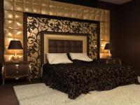 Дизайн стен в спальне: варианты сочетаний, выбор цвета и особенности отделки. 105 фото идей дизайна интерьера