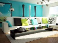 Голубой цвет стен — красивые и оригинальные варианты оформления стен. 105 фото, особенности, идеи и лучшие сочетания