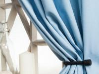 Голубые шторы: красивые сочетания, актуальный современный дизайн и правила применения штор (120 фото + видео)
