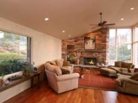 Гостиная с камином — реальные примеры оформления и советы как использовать камин в гостиной правильно (80 фото + видео)