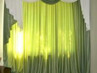 Салатовые шторы: лучшие идеи применения и особенности дизайна штор салатового цвета. 110 фото примеров оформления