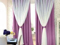Сиреневые шторы: нюансы выбора, оригинальные идеи применения и красивые сочетания сиреневого цвета (90 фото)