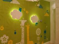 Стены в детской — яркие идеи дизайна и нюансы оформления стен и потолка для детской (120 фото и видео)