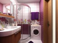 Стиральная машинка в ванной — варианты размещения, правила установки и советы по выбору под дизайн интерьера (80 фото)