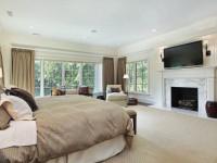 Телевизор в спальне — правила расположения, стильного оформления и применения в дизайне интерьера