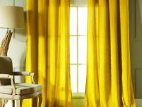 Желтые шторы — обзор красивых сочетаний и примеры идеального применения штор желтого цвета (95 фото)
