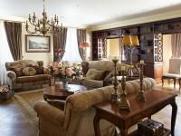 Как оформить гостиную в английском стиле?