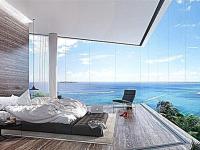 Панорамные окна в спальне, хит 2021 года – почему стоит их устанавливать?