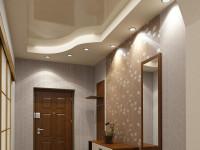 Дизайн потолков в коридоре, чем отделать потолок