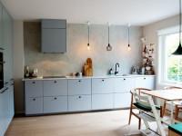 Почему так популярны кухни без верхних шкафчиков?