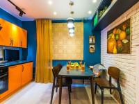Цветовые решения для кухонных стен: правила и советы по выбору цвета