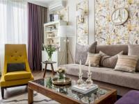 Обои для зала в квартире — варианты обоев для зала, фото