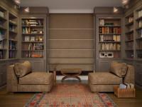 Книжный шкаф: топ идей расположения и украшение стен книгами