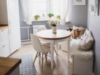 Круглый стол для кухни, лучшие идеи дизайна с фото-примерами интерьеров кухни, как правильно выбрать стол для маленькой кухни