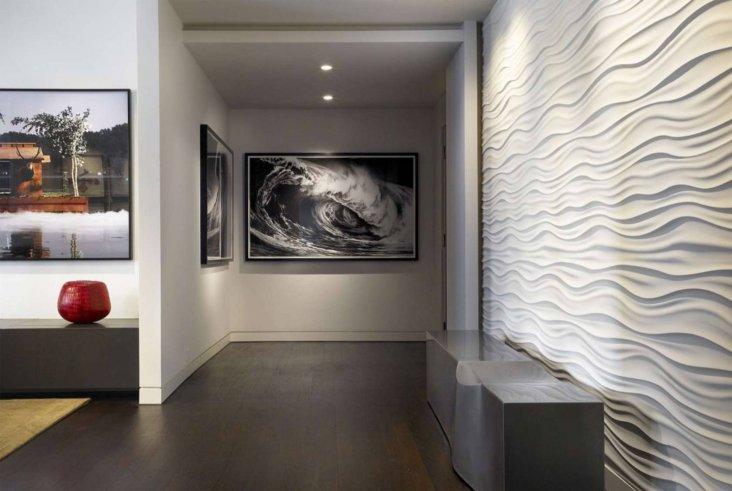Дизайн отделки стен дома