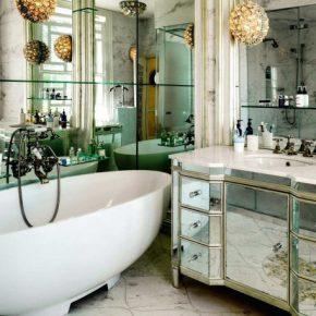 Дизайн ванной 2019 года — современные актуальные идеи и варианты оформления ванной комнаты (125 фото)