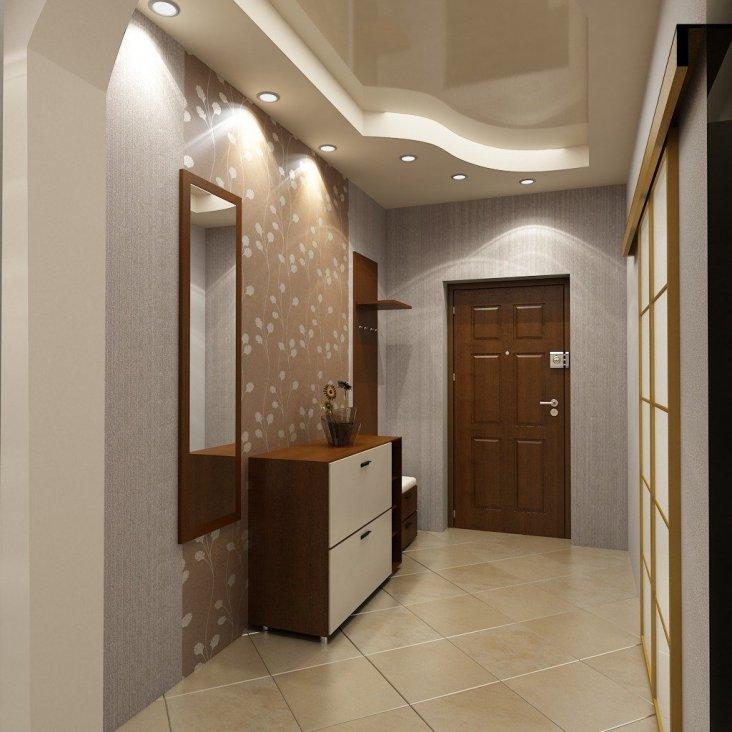 Натяжные потолки с фотопечатью 80 фото варианты изделий с печатью на стену для спальни и прихожей особенности дизайна глянцевых потолков