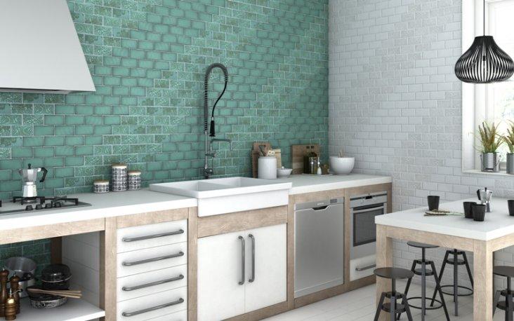 Плитка для кухни на пол 70 качественных фото - варианты дизайна
