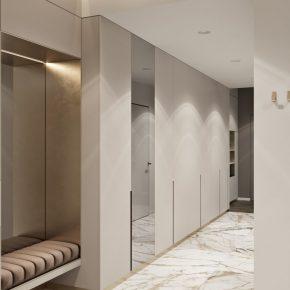 Прихожие 2021 года — современные идеи оформления и варианты дизайна интерьера прихожих (95 фото)