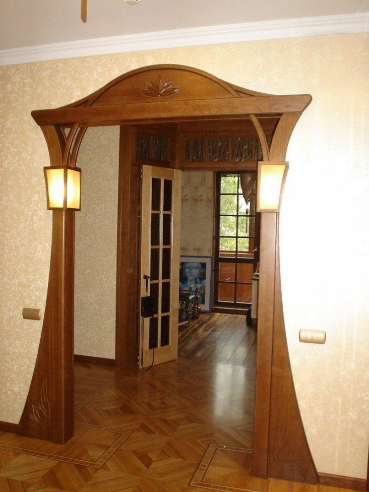 второй портал в квартире фото оригинальных дверных арок