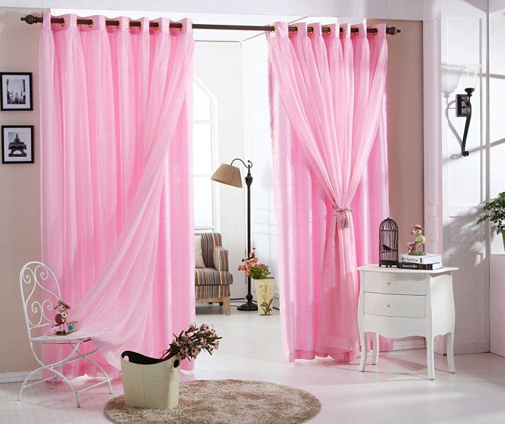 даже могут занавески под розовые обои фото того, многом