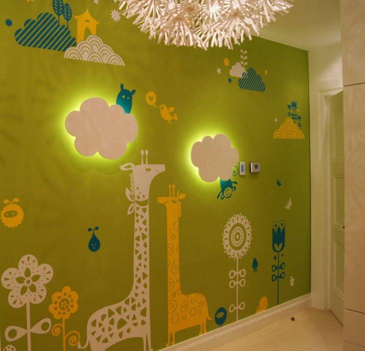 Стены в детской комнате виды материалов и дизайн