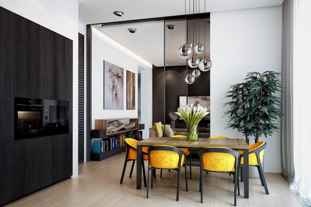 Плюсы и минусы кухни-гостиной