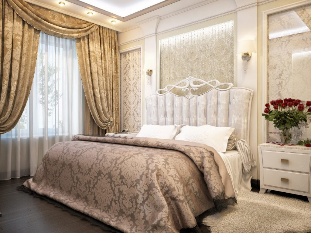 Современные материалы для отделки спальни