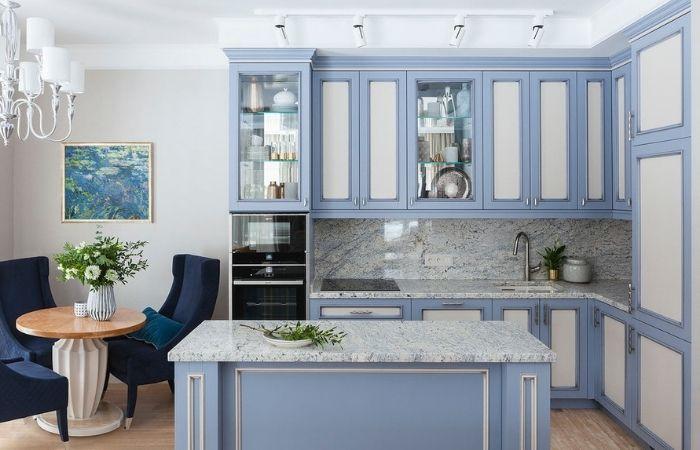 кухни неоклассика светлые