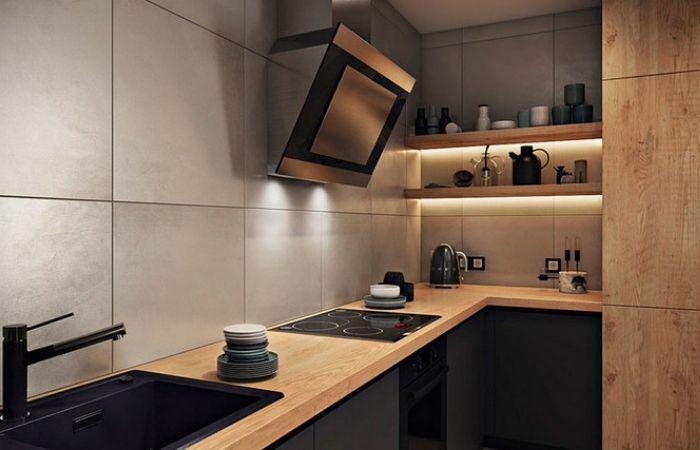 верх кухни