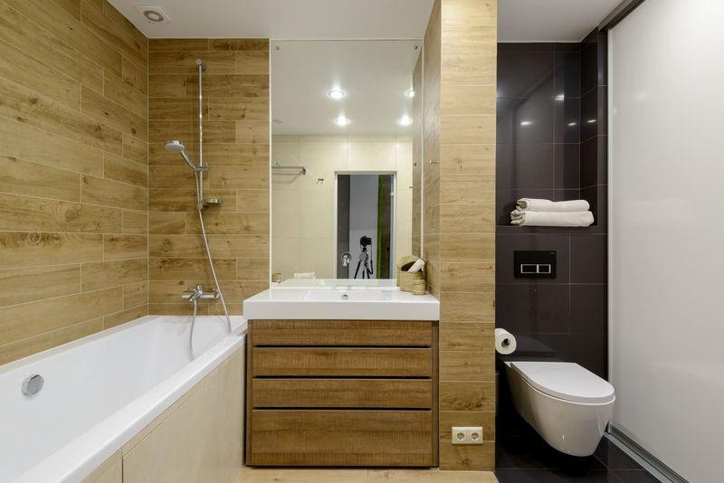 Дизайн ванной комнаты 4 м2
