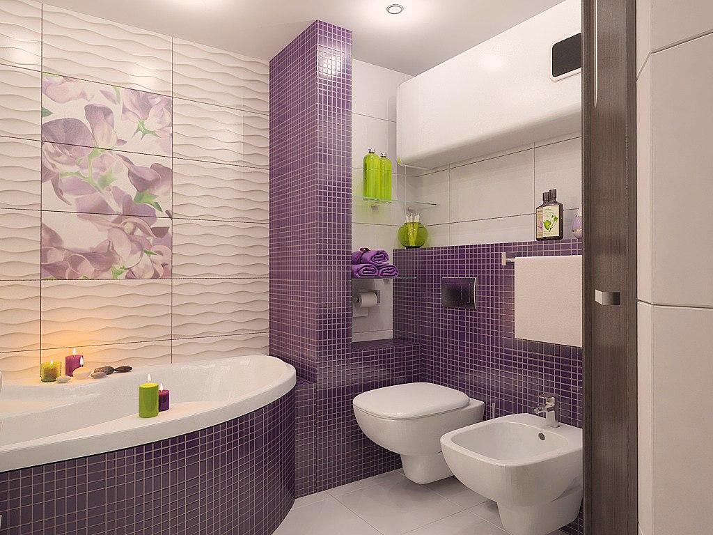 Фото ванных комнат в плитке после ремонта