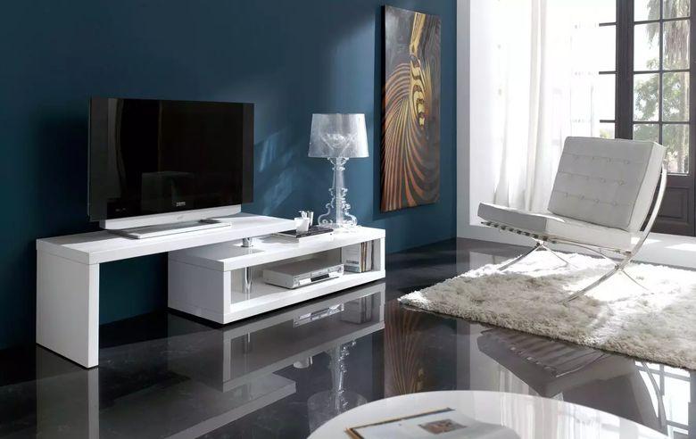 Тумбочки под телевизор в современном стиле: фото