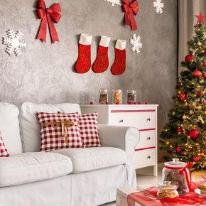Как красиво украсить комнату к Новому году, интересные идеи праздничного декора